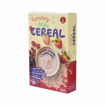Yummy Bites Cereal Strawberry , Raspberry & Blueberry Muesli 200gr
