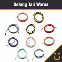 Gelang Fashion / Gelang Tangan Tali Colourful / Gelang Tali
