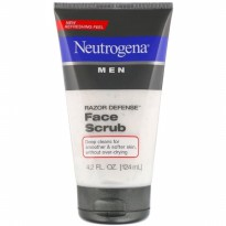 Neutrogena Men Razor Defense Face Scrub 124ml