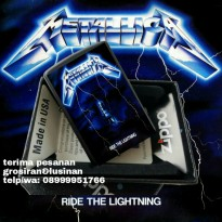 Zippo Metallica ride the lightning