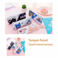 TP0053 Tempat Pensil Good Friend Cartoon Pencil Case