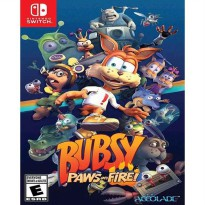 Bubsy Paws on Fire Nintendo Switch Game