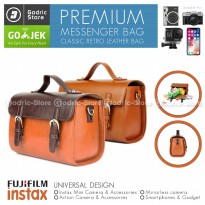Messenger Bag Tas Classic Fujifilm Instax 9 90 SQUARE SP2 SP3 SQ6 SQ10 SQ20 Mirrorless Camera Case