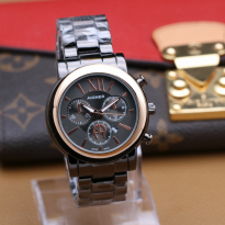 AIGNER A0182 BLACK RING ROSEGOLD