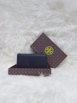 Tory Burch_Marion Envelope Continental wallet Navy - (DB479 Navy)