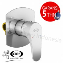 AER Kran Air Tanam Shower Tembok/Concealed Mixer/Hot and Cold SSV 02