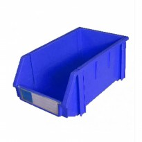 STORAGE BIN KRISBOW 300X450X177MM BLUE 10011445