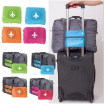 Tas Travel - FOLDABLE TRAVEL BAG /HAND CARRY TAS LIPAT / KOPER LUGGAGE ORGANIZER