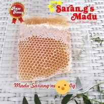 Madu Sarang Super (comb honey) 250gr