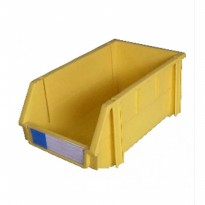 STORAGE BIN KRISBOW 100X160X74MM YELLOW 10011427