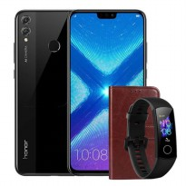 Honor 8X (4GB/128GB) FREE Band + Leather Case