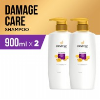 Paket isi 2 - Pantene Sampo Total Damage Care 900ml