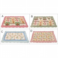 Vintage Story Carpet Semi Patchwork 100% Cotton 02