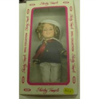[poledit] Shirley Temple Captain January Ideal 7 1/2 Inch Doll (R1)/12245824