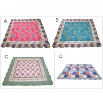Vintage Story Carpet Semi Patchwork 100% Cotton 03