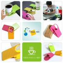 Plastic Table Coffee Cup Holder Cup Clip
