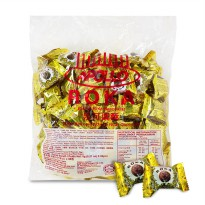 Apollo Roka wafer ball Wafer Bola Coklat isi 80pc Wafer Ball Chocolate