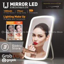XIAOMI JORDAN JUDY Touch Screen Lampu LED MakeUp Cermin Rias Portable Beauty Mirror
