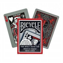 Kartu Remi Poker Import Bicycle Tragic Royalty Playing Cards