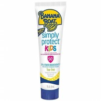 Banana Boat Sunscreen Simply Protect Kids Tear Free Spf50 29ml