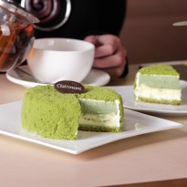 Exclusive Promo - Double Layer Cheescake Greentea by Clairmont- diameter 12 cm