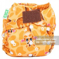 GG Cloth Diaper Clodi (1 Pocket + 1 Insert) - Giraffe