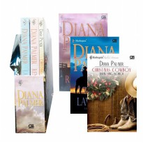 Novel Bundel Harlequin Diana Palmer 3in1 Natal Sang Koboi Sang Agen FBI Lawman & Renegade Original
