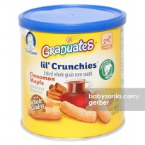 Gerber Graduates Lil Crunchies Cinnamon Maple 42 gram