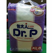 [Promo Gajian] PAMPER DR P For Adult Diapers Ukuran XL Isi 8 pcs