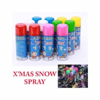 HO5098 - Christmas Decoration Snow Spray (Random Color)