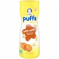Gerber Graduates Puff Strawberry Apple 42 gram