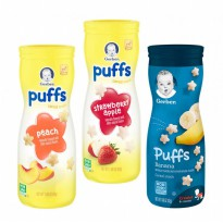 Gerber Puff Combo B ( Banana ,Strawberry Apple, Peach )