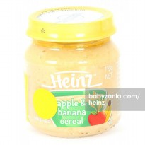 Heinz Mashed Apple and Banana Cereal 110gr - 6m+