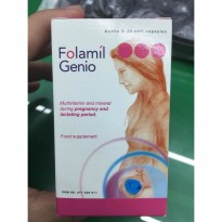 (Best Seller) Folamil Genio Isi 30 Softgel