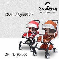 Bloombaby Stroller coral red