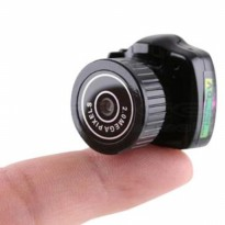 Spy Cam Super mini Y2000 Kamera Penghintai Camera Keamanan Tersembunyi CCTV CC TV IMPORT BEST SELLER
