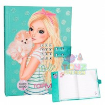 TOP MODEL DIARY WITH CODE AND SOUND 2 - TM8986 - ORIGINAL