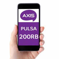 [PPND] AXIS Pulsa 200.000