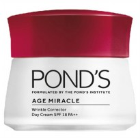 Ponds Age Miracle Wrinkle Corrector Day Cream Spf18 50g