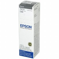 Epson T6731 Black Hitam (Tinta Original for L800, L850, L1800)