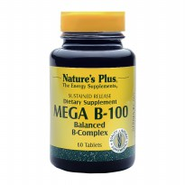 Natural Plus Mega B-100 Sustained Release 60's