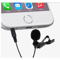 Deluxe 3.5mm Microphone with Clip for Smartphone / Laptop / Tablet PC