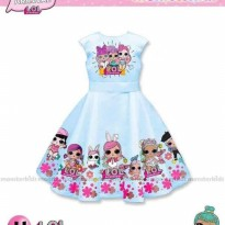 Dress Anak LOL Surprise Biru