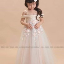 Long Dress Gaun Pesta Panjang Anak Cantik