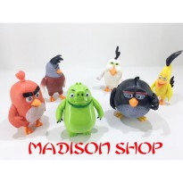 ACTION FIGURE ANGRY BIRD 6 PREMIUM QUALITY