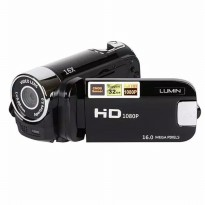 Lumin HD90 Camcorder Digital Camera 1080P 12MP Video Full HD DV DVR 2 - Hitam