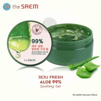 The Saem - Jeju Fresh Aloe Soothing Gel 99% -  300 ml