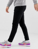 Pull&Bear Join Life carrot fit jeans in black