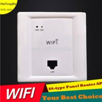 [globalbuy] Poe Support Wifi Wireless Inwall Access Point Wall AP 300Mbps/2391202
