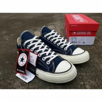 Original Converse Low Classic 1970S Dress Blue Of White Unisex Size SPF:008024